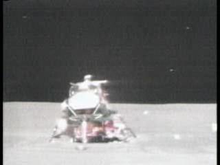 Apollo 15 liftoff from the Moon.ogg